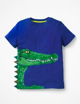 Orion Blue Croc 3D Animal T-shirt