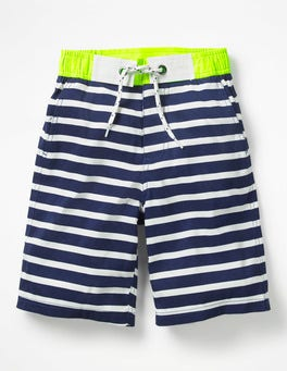 Beacon Blue/Ecru Board Shorts