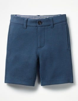 Beacon Blue Jersey Chino Shorts