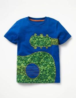 Printed Applique T-shirt