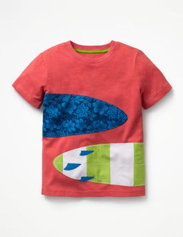 Printed Applique T-shirt