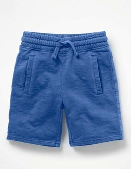 Orion Blue Garment-dyed Sweatshorts