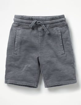 Raft Grey Garment-dyed Sweatshorts