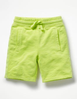 Acid Yellow Garment-dyed Sweatshorts