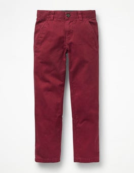 Port Red Chinos