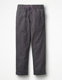 Midnight Blue Smart Pull-on Trousers