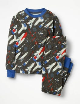Shark Grey Space Shuttles  Glow-in-the-dark Pyjamas