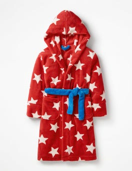 Polish Star Red Dressing Gown
