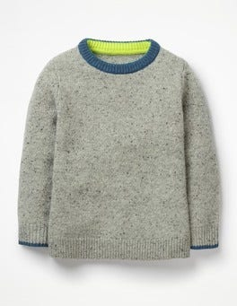 Grey Marl Donegal Donegal Crew Jumper