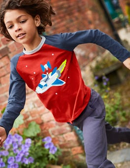 Outer Space Raglan T-shirt