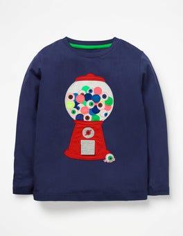Starboard Blue Gumballs Terrible Treats T-shirt
