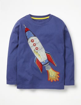 Starboard Blue Rocket Superstitch Toy T-shirt
