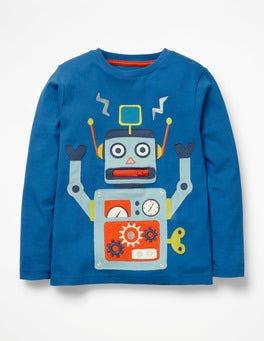 Daphne Blue Robot Novelty Toy T-shirt