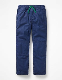 Orion Blue Lined Pull-on Trousers