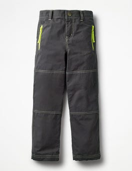 Volcanic Rock Grey Lined Skate Trousers