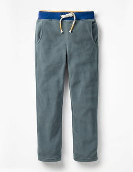 Cobble Grey Microfleece Joggers