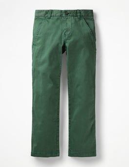 Safari Green Chino Trousers