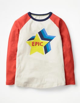 Pop Raglan T-shirt
