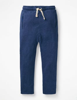 College Blue Lined Slouch Sweatpants