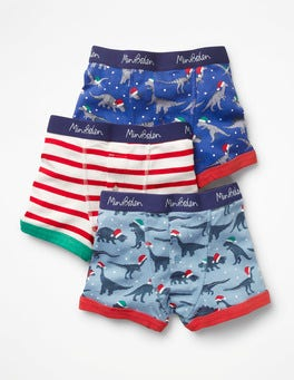 3 Pack Festive Boxers