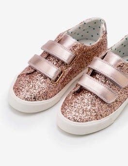Rose Gold Fun Low Tops