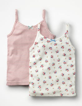 Vintage Floral 2 Pack Tanks