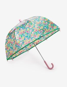 Multi Flowerbed Printed Umbrella