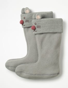 Grey Marl Welly Liners