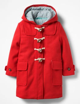 Polish Red Duffle Coat