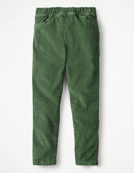 Army Green Cord Leggings