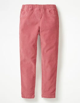 Autumn Rose Pink Cord Leggings