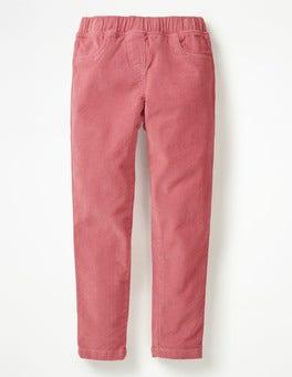 Herbstrosa Cord-Leggings