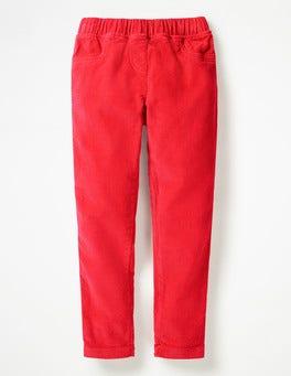 Polish Red Cord Leggings