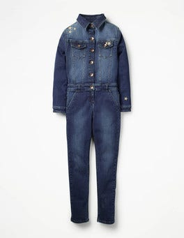 Mid Vintage Denim Boiler Suit