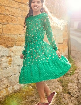 Woven Hotchpotch Dress