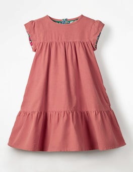 Rose Pink Pretty Cord Dress
