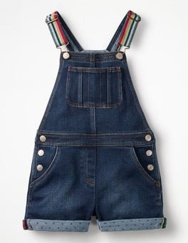 Mid Vintage Short Dungarees