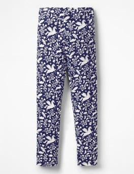Prussian Blue Peculiar Pets Fun Cosy Leggings