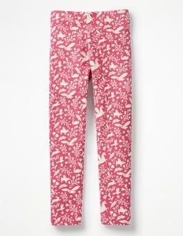 Rose Pink Peculiar Pets Fun Cosy Leggings