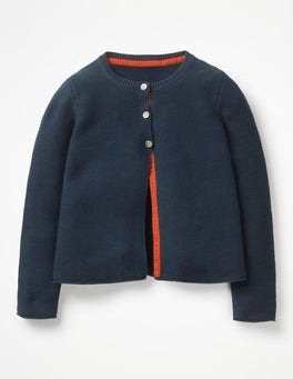 School Navy Everyday Cardigan