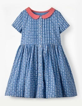 Collared Nostalgic Dress