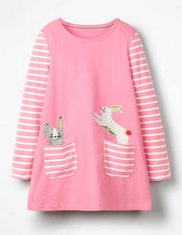 Formica Pink Bunny Animal Pocket Tunic
