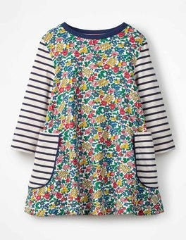 Multi Flowerbed Printed Tunic