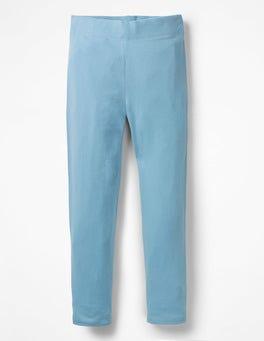 Heavenly Blue Plain Leggings