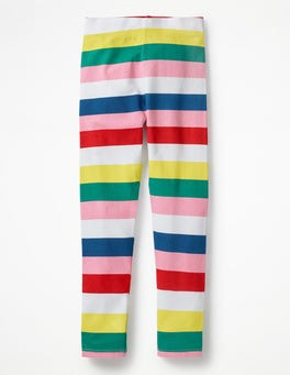 Sporty Multistripe Fun Leggings