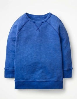 Cobalt Blue Longline Sweatshirt