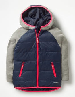 School Navy/Grey Active Jacket