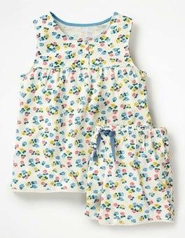 Ivory Blossom Pretty Pyjama Set