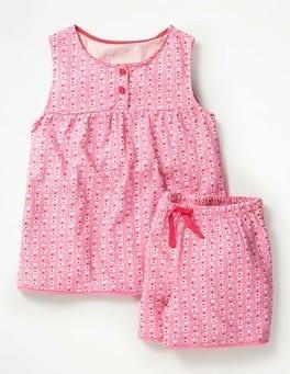 Pink Geo Bird Pretty Pyjama Set