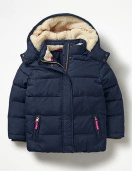 School Navy Cosy Padded Jacket